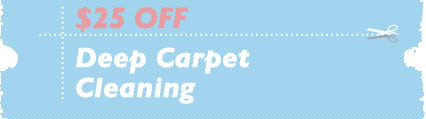 Cleaning Coupons | $25 off deep cleaning | Carpet Cleaning Edison