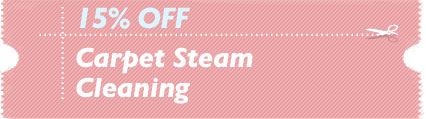 Cleaning Coupons | 15% off carpet steam cleaning | Carpet Cleaning Edison